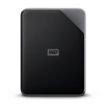 Western Digital Elements SE external hard drive 5000 GB Black