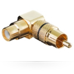Microconnect AUDCCA cable gender changer RCA Gold