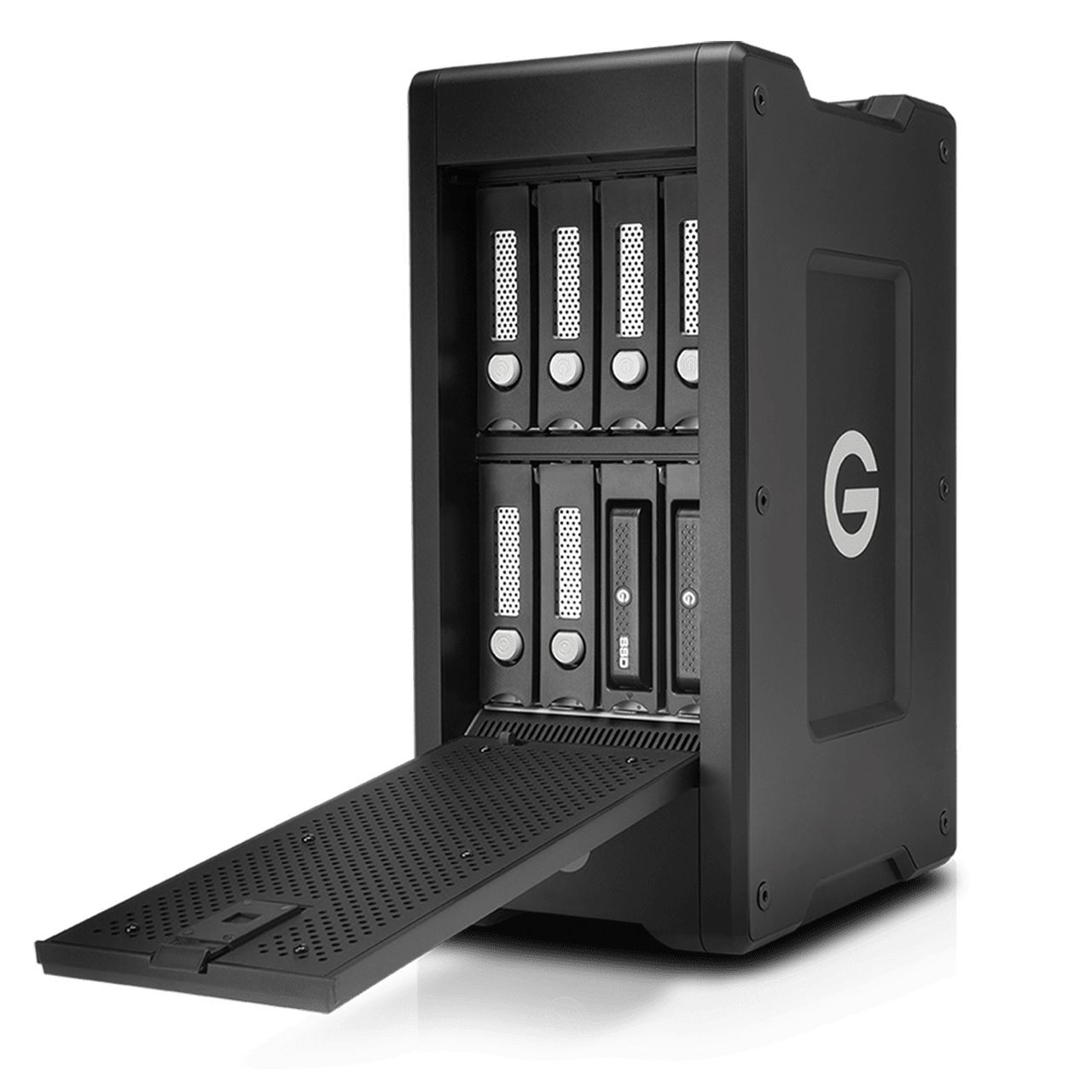 G-Technology G-SPEED XL unidad de disco multiple 112 TB Negro