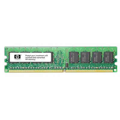 HP 4GB Fully Buffered DIMM PC2-5300 2x2GB DDR2 Memory Kit 4GB DDR2 667MHz ECC memory module
