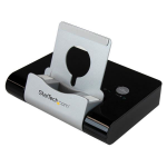 StarTech.com 3-Port USB 3.0 Hub for Laptops & Windows Based Tablets + Fast-Charge Port & Device Stand - Black ST4300U3C1B