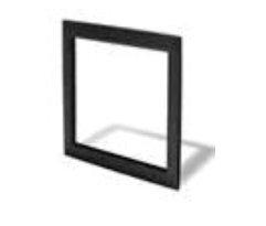 Elo Touch Solution Bezel stainless steel, black