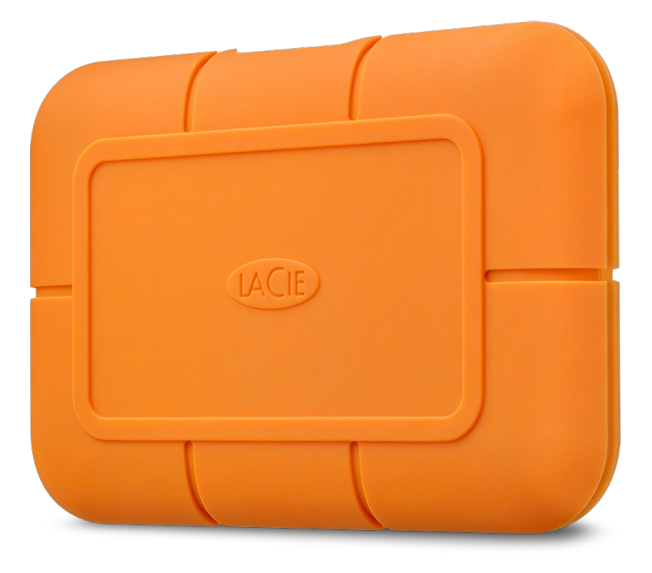 LaCie Rugged 1000 GB Orange