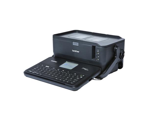 Brother PT-D800W impresora de etiquetas Transferencia térmica 360 x 360 DPI Inalámbrico y alámbrico TZe QWERTY