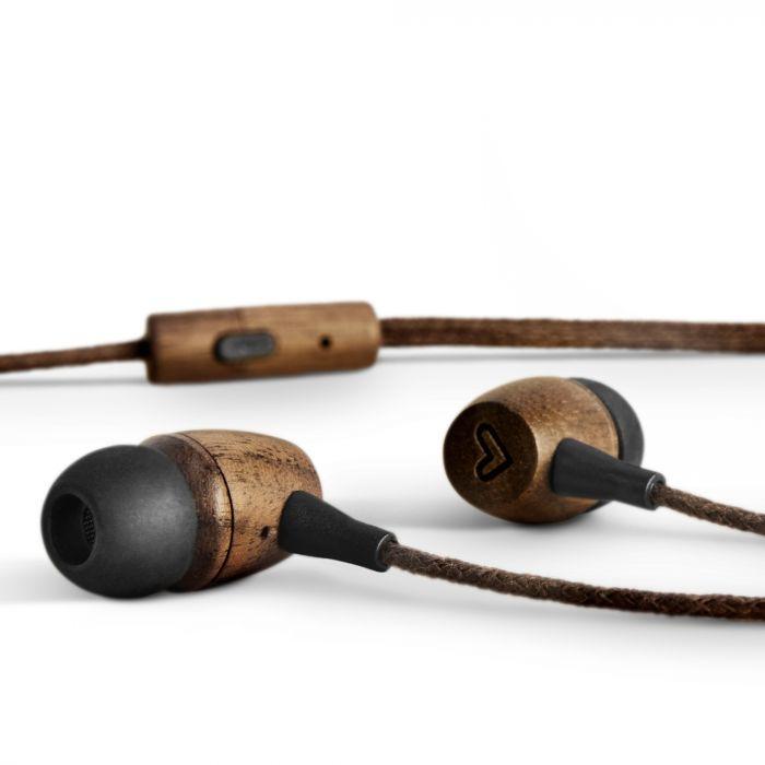 Energy Sistem Eco Walnut Wood Auriculares Dentro de oído Madera USB Tipo C