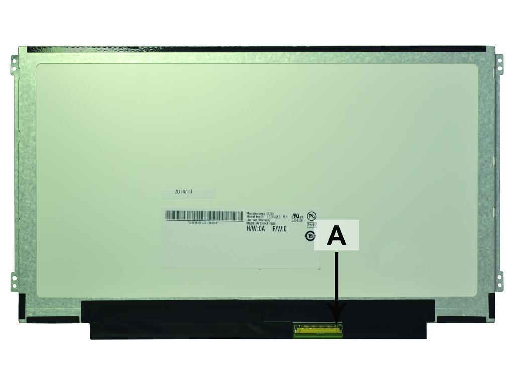 2-Power 11.6 WXGA HD 1366x768 LED Matte Screen - replaces 04X1112