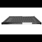"Intellinet 19"" Sliding Shelf, 1U, 800 to 1000mm Depth, shelf depth 550mm, Black 712620"