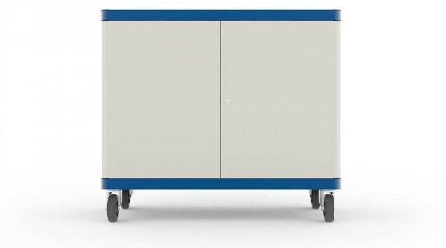 LapSafe ClassBuddy 20 Portable device management cart Blue,White