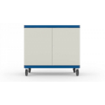 LapSafe ClassBuddy 20 Portable device management cart Blue,White