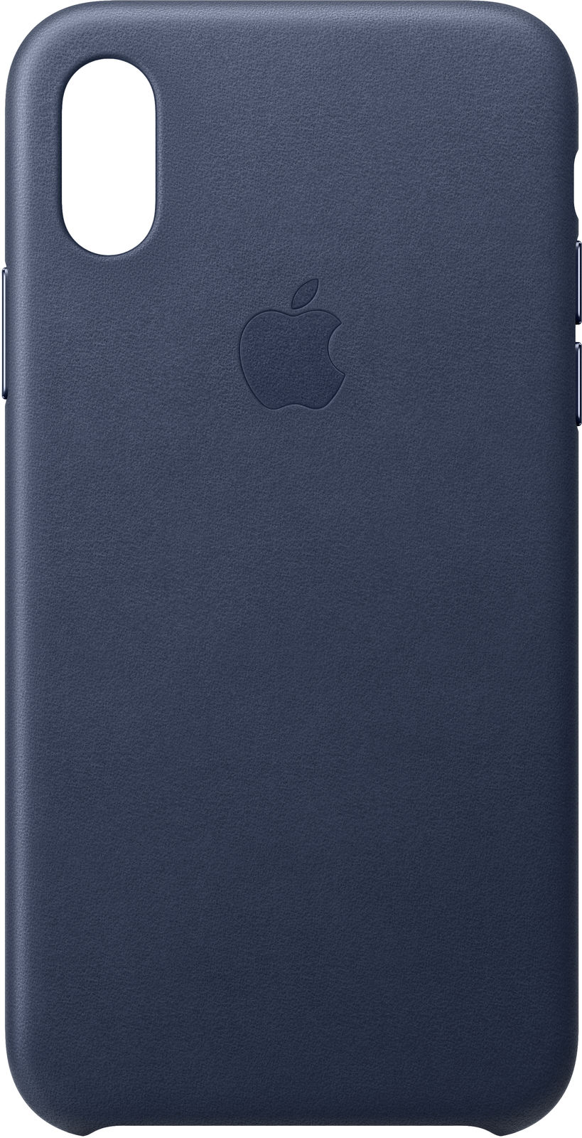 iPhone Xs - Leather Case - Midnight Blue