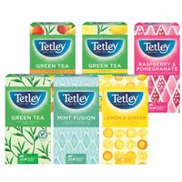 Tetley FRUIT HERBAL TEA STARTER 6 X PK25