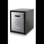 Netgear ReadyNAS 626X Ethernet LAN Mini Tower Black,Silver NAS
