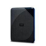 Western Digital WDBDFF0020BBK-WESN externe harde schijf 4000 GB Zwart, Blauw