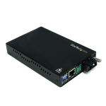 StarTech.com Convertidor de Medios Ethernet 10/100 Mbps a Fibra Multimodo Conector SC - 2km