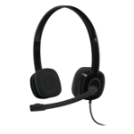 Logitech H151 Headset Head-band Black