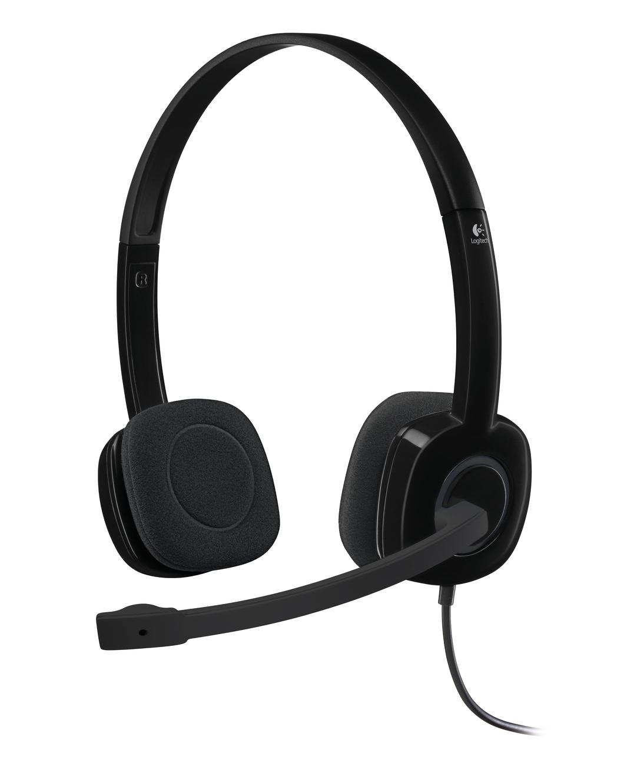 Logitech H151 headset Head-band Binaural Black