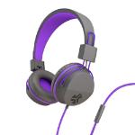 JLab Audio JBuddies Studio Kids Headphones Head-band 3.5 mm connector Graphite, Violet IEUHJKSTUDIORGRYPRP6