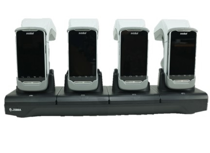 Zebra CRD4S-RFD8500-1R organizador para estación de carga Independiente Negro