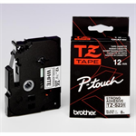 Brother TZ-S231 P-Touch Ribbon, 12mm x 8m