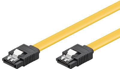 Microconnect SAT15010C6 SATA cable 1 m SATA 7-pin Yellow