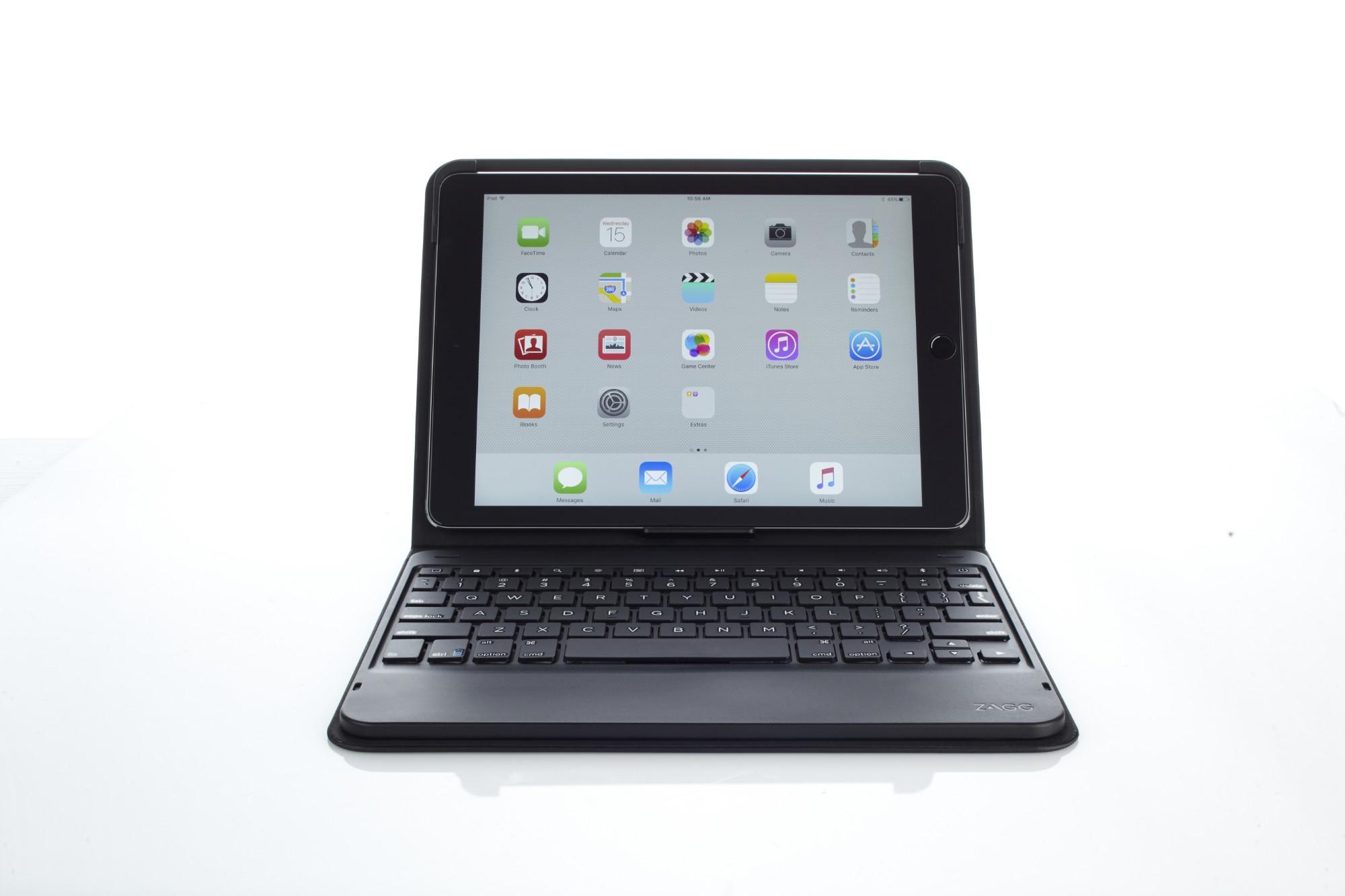 ZAGG ID8BSF-BBC Bluetooth AZERTY Zwart toetsenbord voor mobiel apparaat