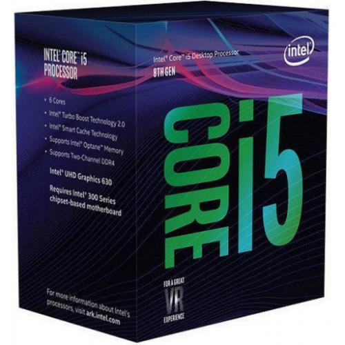 Intel Core i5-8600K processor 3.6 GHz 9 MB Smart Cache Box