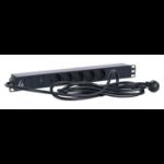 Lanview LVR261816D power distribution unit (PDU) 5 AC outlet(s) 1U Black