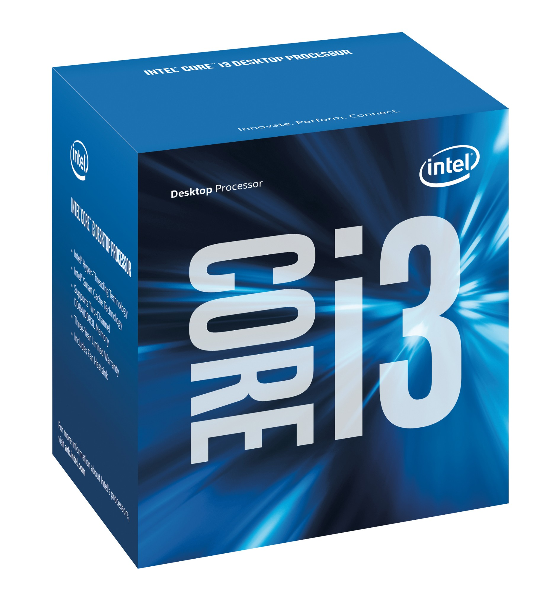 Intel Core ® ™ i3-4170 Processor (3M Cache, 3.70 GHz) 3.7GHz 3MB L3 Box processor