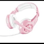 Trust GXT 310P Radius Headset Head-band Pink, White