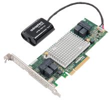 Adaptec Raid 81605Z SAS/SATA 12Gb/s 8x Pci-e Gen3 Controller 16 Port with AFM-700 Single