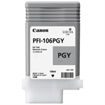 Canon 6631B001 (PFI-106 PGY) Ink cartridge gray, 130ml 6631B001AA