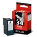 Lexmark 18C0034E (34XL) Printhead black, 475 pages, 24ml