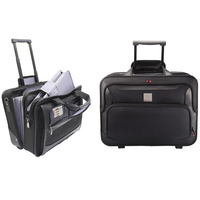 MONOLITH DLX NYL WHEELED LAPTOP CASE BLK