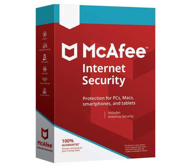 McAfee Internet Security Licencia básica 10 licencia(s) 1 año(s)