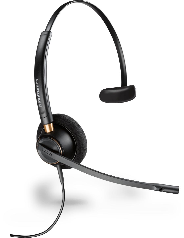 Plantronics Encore Pro HW510 Monaural Head-band Black headset