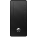 HP 290 G4 Microtower i5-10500 10th gen Intel® Core™ i5 8 GB DDR4-SDRAM 256 GB SSD Windows 10 Pro PC Black