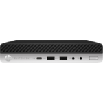 HP EliteDesk 800 G5 DDR4-SDRAM 9500 mini PC 9th gen Intel® Core™ i5 8 GB 256 GB SSD Windows 10 Pro Black, Silver
