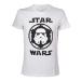 Star Wars Adult Male Stormtrooper Helmet Emblem T-Shirt, Extra Large, White (TS080701STW-XL)