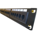 Dynamode PPAN-24-LC2 1U patch panel