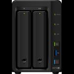 Synology DiskStation DS718+ Ethernet LAN Desktop Black NAS
