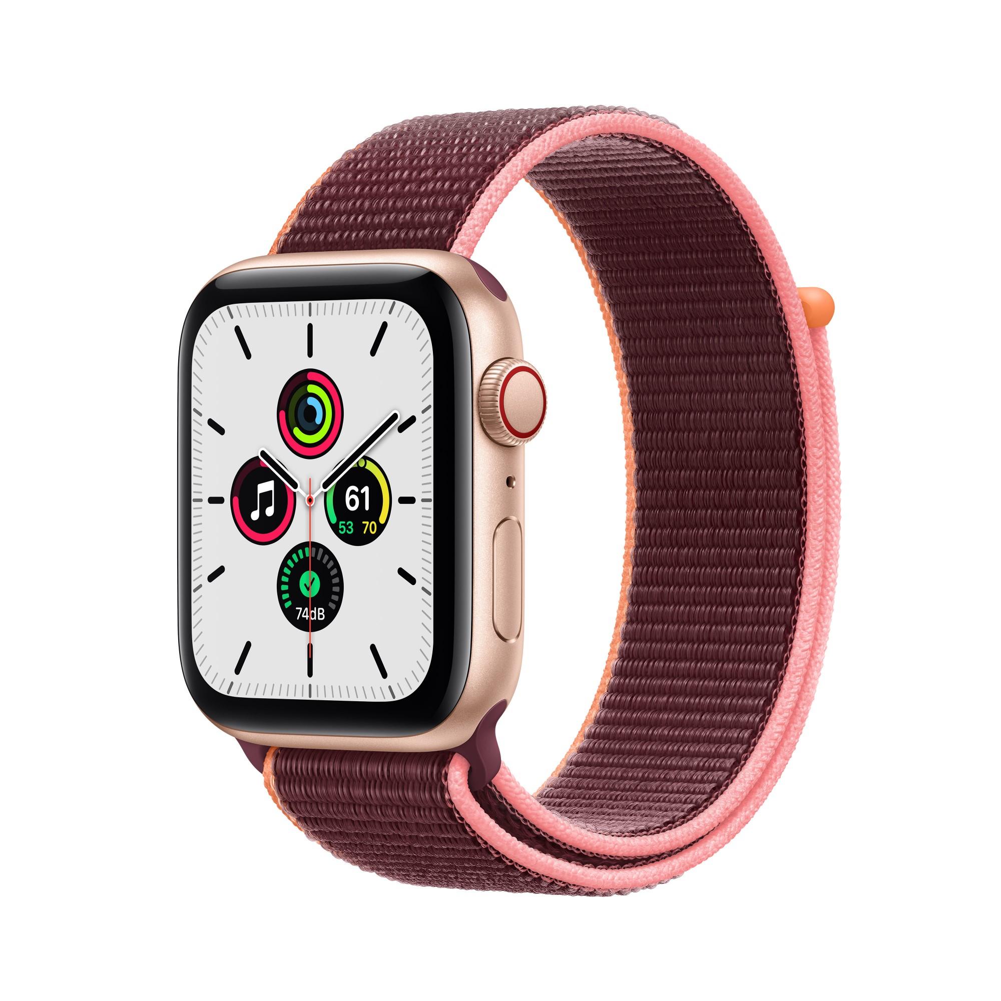 Apple Watch SE 44 mm OLED 4G Gold GPS (satellite)