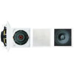 Pyle PDIWS10 Passive subwoofer 180W Black, White subwoofer