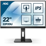 AOC 22P2DU LED display 54,6 cm (21.5 Zoll) 1920 x 1080 Pixel Full HD Schwarz