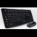Logitech Desktop MK120 USB QWERTZ Alemán Negro