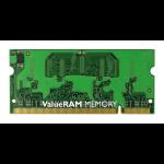 Kingston Technology ValueRAM 1GB 667MHz DDR2 Non-ECC CL5 SODIMM 1GB DDR2 667MHz módulo de memoria