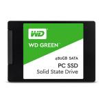 "Western Digital WDS480G1G0A internal solid state drive 2.5"" 480 GB Serial ATA III"