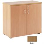 Jemini Oak 1 Shelf 730mm Cupboard