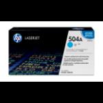 HP 504A Origineel Cyaan 1 stuk(s)