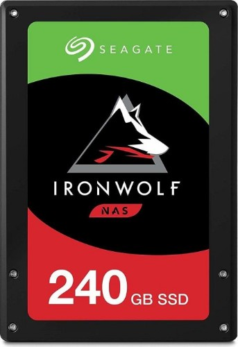 "Seagate IronWolf 110 internal solid state drive 2.5"" 240 GB Serial ATA III 3D TLC"