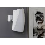 SoundXtra SDXH3WM1011 speaker mount Wall Acrylonitrile butadiene styrene (ABS), Steel White